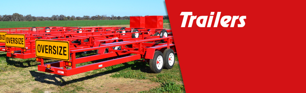 Red Comb Trailers